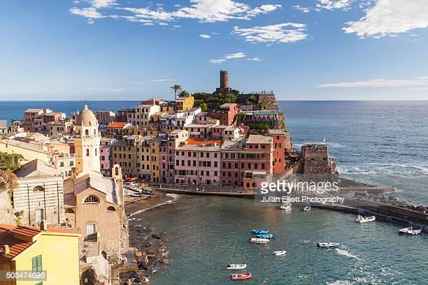 The village of Vernazza in Cinque Terre