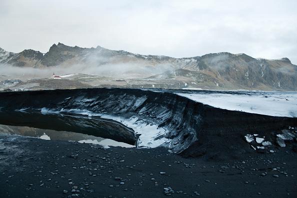 Viki Myrdal, Iceland, January 2012 : News Photo