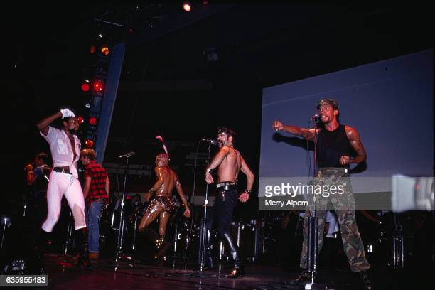The Village People are fronted by Victor Willis The lineup behind him is left to right Randy Jones David Hodo Felipe Rose Glenn Hughes and Alexander...