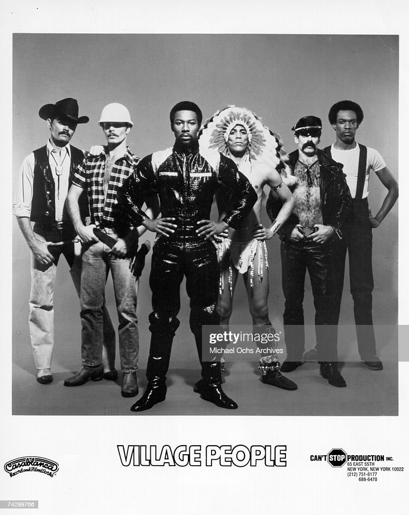The Village People pose for a Casablanca Records publicity shot in 1978