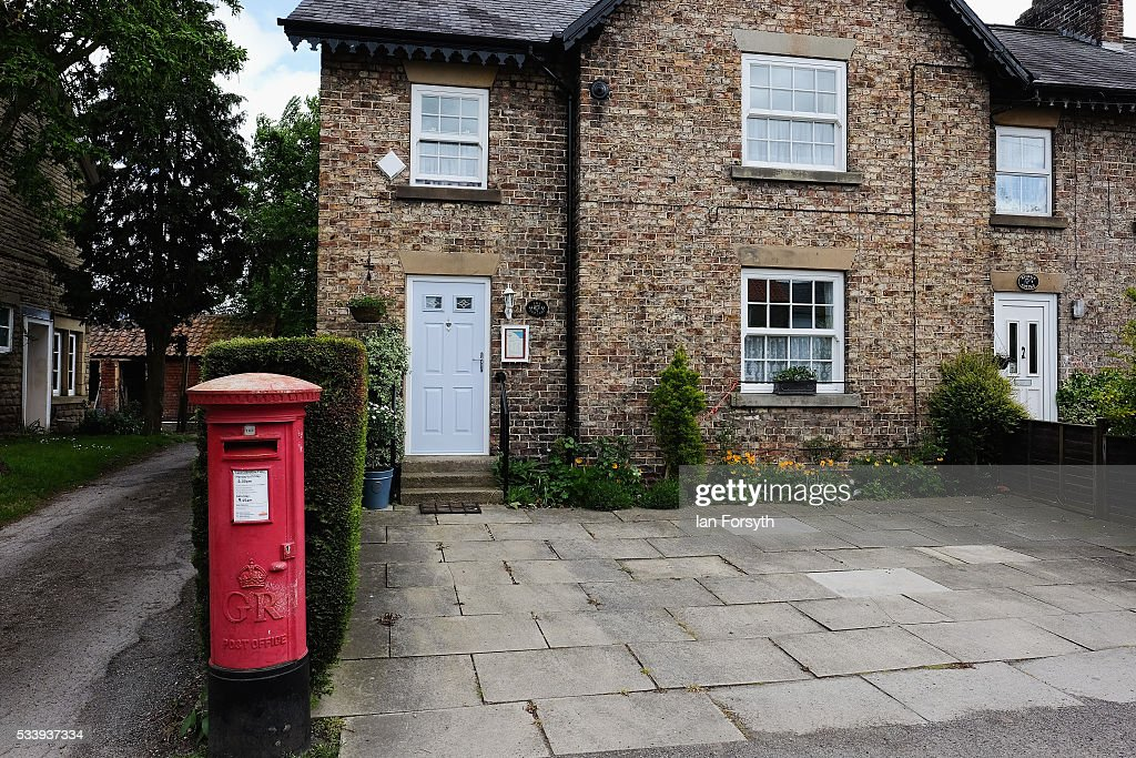 The village post office in Kirby Misperton in North Yorkshire near the site of the KM8 fracking site on May 24, 2016 in Malton, England. North Yorkshire's Planning and Regulatory Committee voted seven to four in favour of a planning application submitted by Third Energy to carry out fracking at the KM8 site. Hydraulic fracturing, or fracking, is a technique designed to recover gas and oil from shale rock.