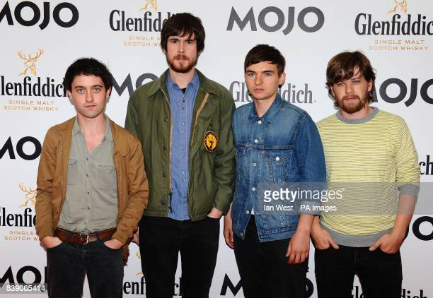 The Villagers arrive at the Mojo Awards at the Brewery in London