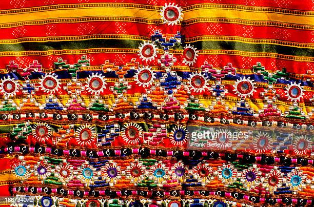 The villages in central Gujarat are famous fot the different styles of embroidery