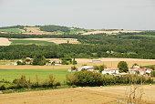 The villages near Villebois-Lavalette