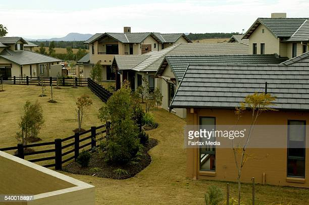 The Vintage a golf course and residential housing estate in the Hunter Valley 24 June 2004 AFR Picture by VIRGINIA STAR