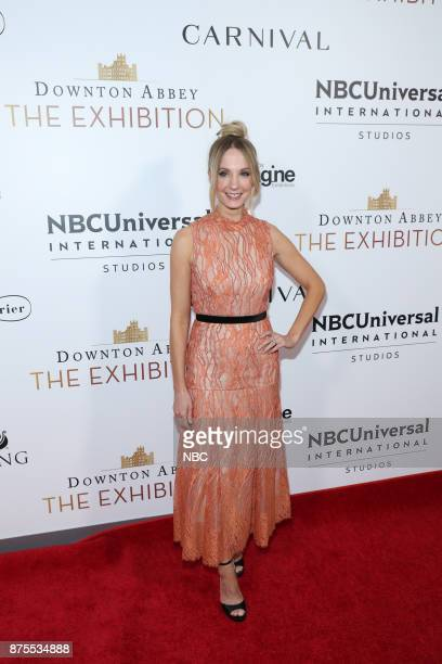 EXHIBITION The VIP Opening of Downton Abbey The Exhibition Pictured Joanne Froggatt
