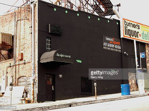 The Viper Room during The Viper RoomJohnny Depp's Club in West Hollywood California United States