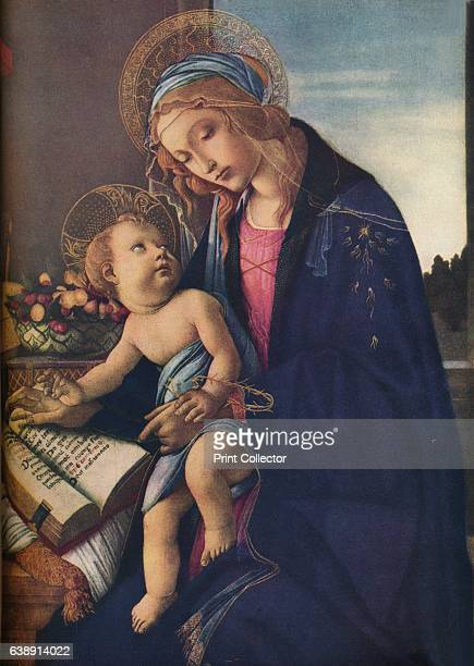 The Virgin and Child' c1480 Housed at the Poldi Pezzoli Museo Milan From The Connoisseur Vol 97 edited by H Granville Fell [International Studio...
