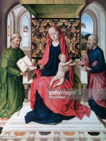 'The Virgin and Child with Saints' 1460's Saint Peter and Saint Paul with the Virgin and Christ as a child National Gallery London