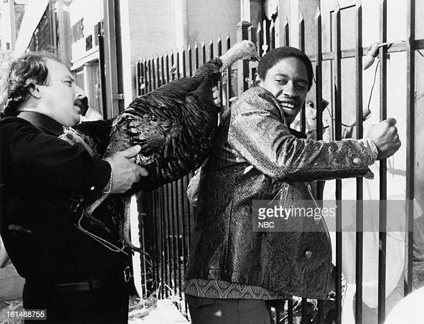 BLUES 'The Virgin and the Turkey' Episode 610 Pictured Dennis Franz as Lt Norman Buntz Tim Russ as Burton