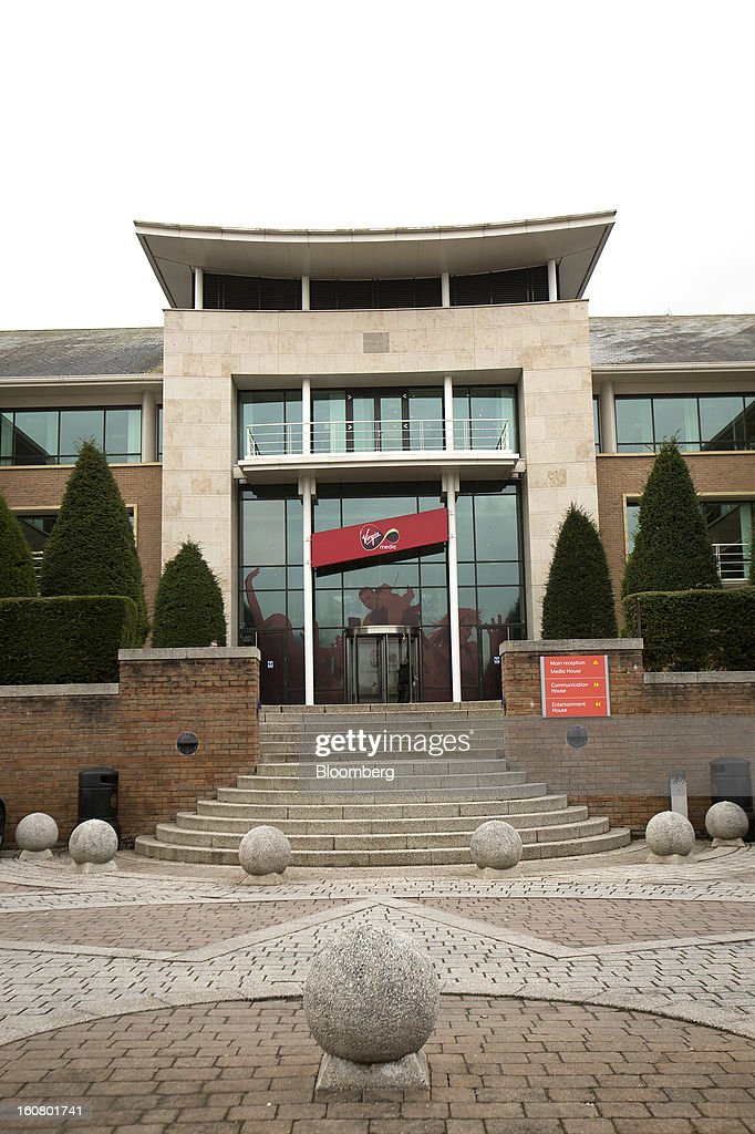 The Virgin Media headquarters is seen on the Bartley Wood Business Park in Hook, U.K., on Wednesday, Feb. 6, 2013. Billionaire John Malone's Liberty Global Inc. agreed to acquire Virgin Media, Britain's second-largest pay-TV provider, in a $16 billion cash-and-stock transaction announced in the U.S. yesterday. Photographer: Simon Dawson/Bloomberg via Getty Images
