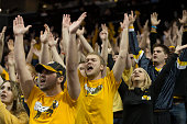 The Virginia Commonwealth Rams fans celebrate during the game against the Dayton Flyers in the championship game of the men's Atlantic 10 tournament...