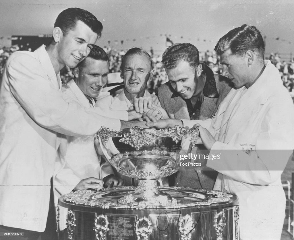 Australian Davis Cup Team 1951
