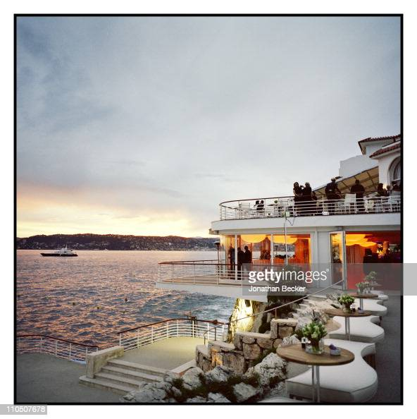 The vista of Hotel du Cap is photographed for Vanity Fair Magazine on May 15 2010 in Cannes France Published image