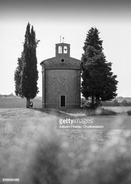 The Vitaleta Chapel in , Tuscany.