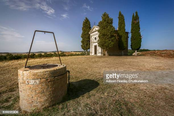 The Vitaleta Chapel , Tuscany.