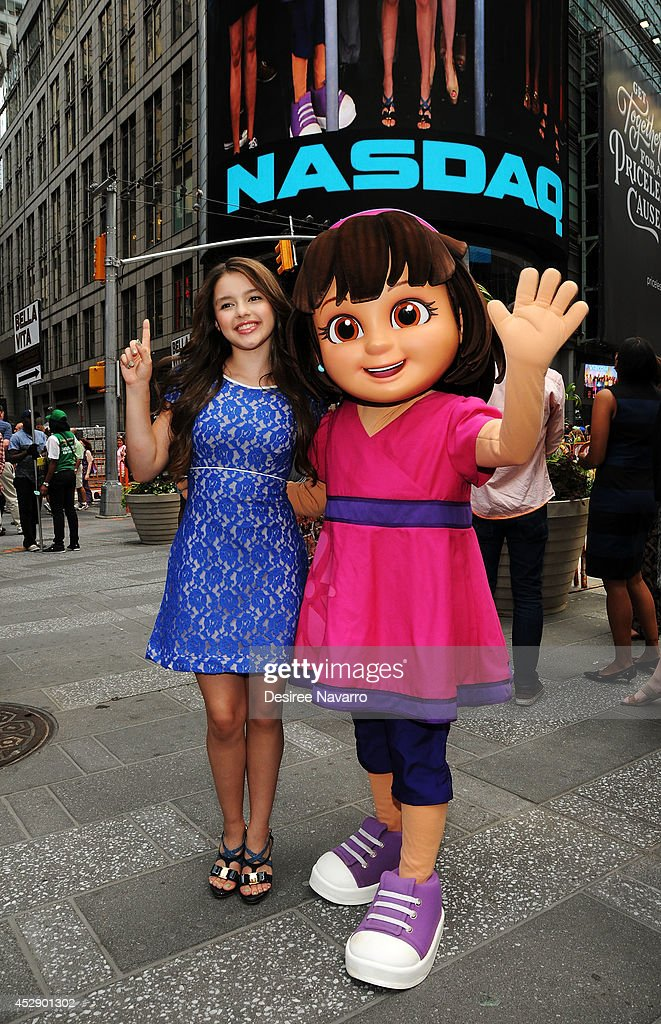 """Dora And Friends: Into The City!"" Rings The NASDAQ Closing Bell"