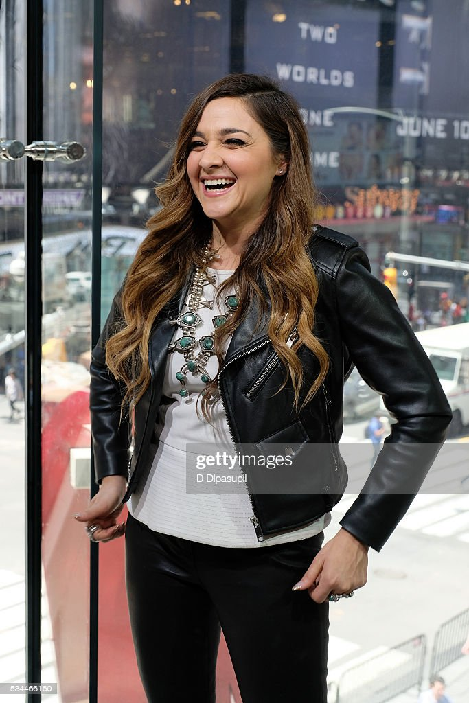 'The Voice' season 10 winner <a gi-track='captionPersonalityLinkClicked' href=/galleries/search?phrase=Alisan+Porter&family=editorial&specificpeople=668247 ng-click='$event.stopPropagation()'>Alisan Porter</a> visits 'Extra' at their New York studios at H&M in Times Square on May 26, 2016 in New York City.