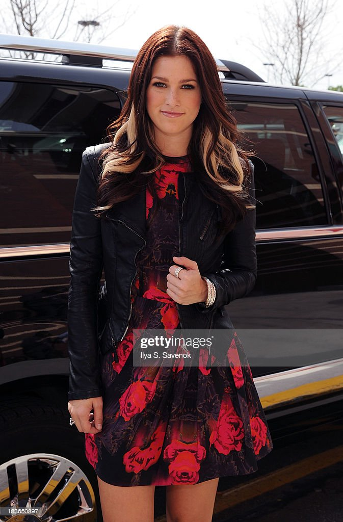 'The Voice' Winner Cassadee Pope Visits A Target In Brooklyn To Buy Her Debut Country Album on October 8, 2013 in Brooklyn, New York.