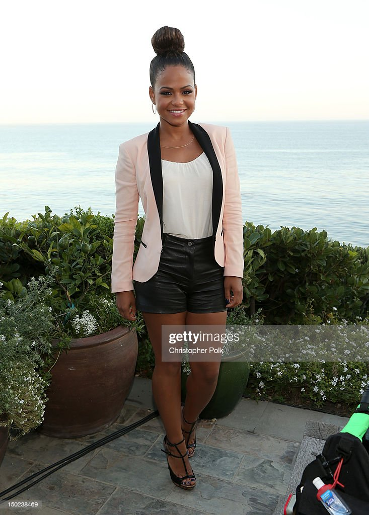The Voice's Christina Milian attends the NBCUniversal's 'The Voice' Press Junket and cocktail reception on August 12 2012 in Los Angeles California