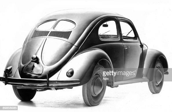 The Volkswagen Beetle 1940 Volkswagen car in 1940