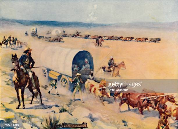 The VoorTrekkers' 1909 The Voortrekkers mainly consisted of Trekboer pastoralists and Cape Dutch citizens from the Eastern frontier of the Cape...