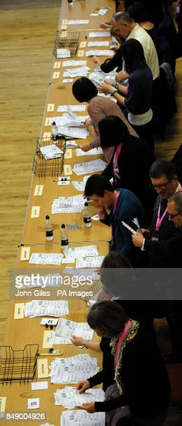 The vote count for the Police and Crime Commissioner in the Humberside Police Area begins in Bridlington Spa today following Polling yesterday