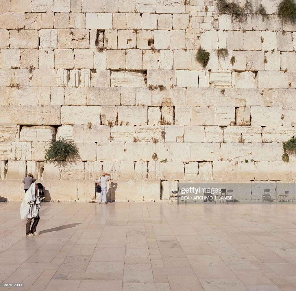 The Wailing Wall Old City of Jerusalem Israel