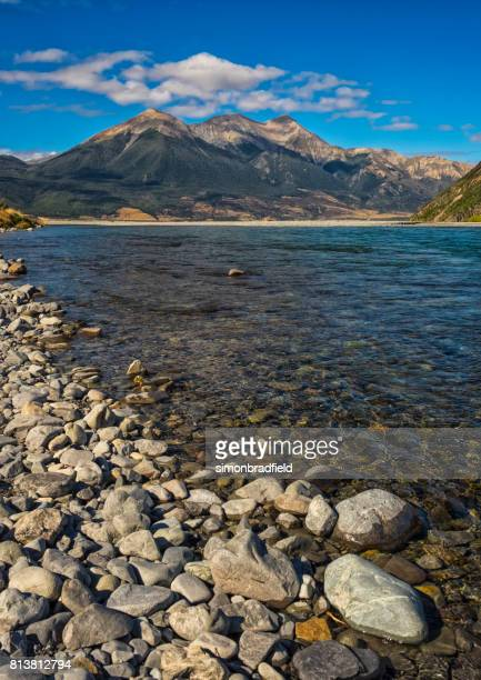 The Waimakariri River In Arthur's Pass, New Zealand