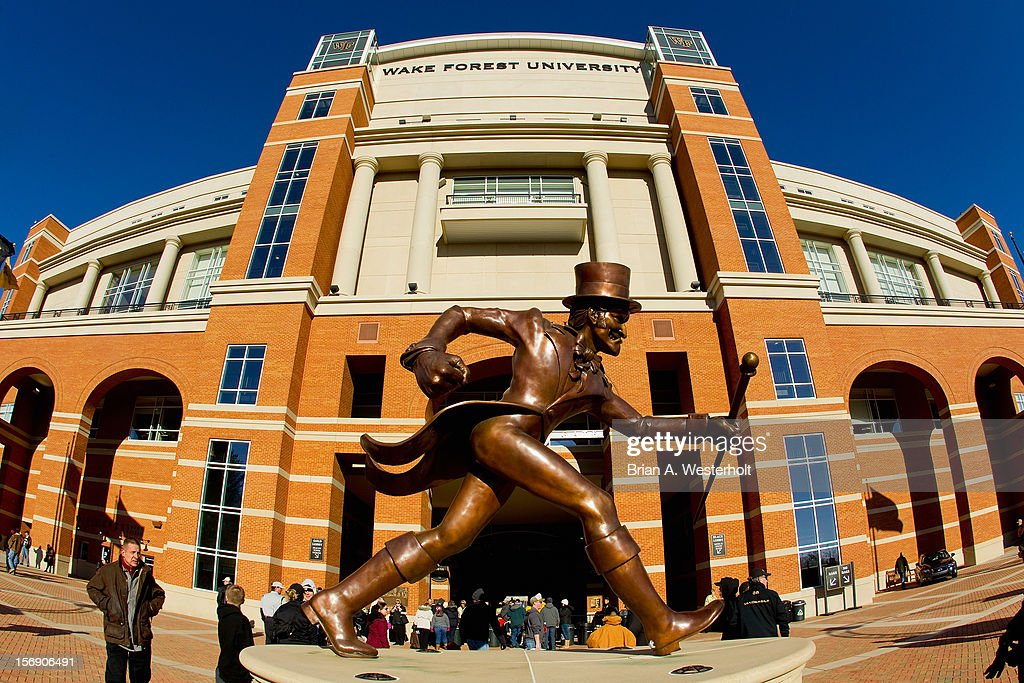 The Wake Forest Demon Deacons played host to the Vanderbilt Commodores at BB&T Field on November 24, 2012 in Winston Salem, North Carolina.