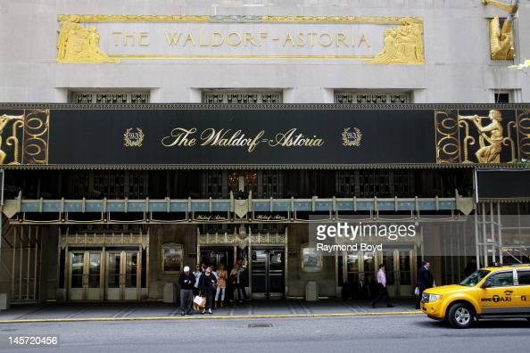 The WaldorfAstoria Hotel in New York New York on MAY 11 2012