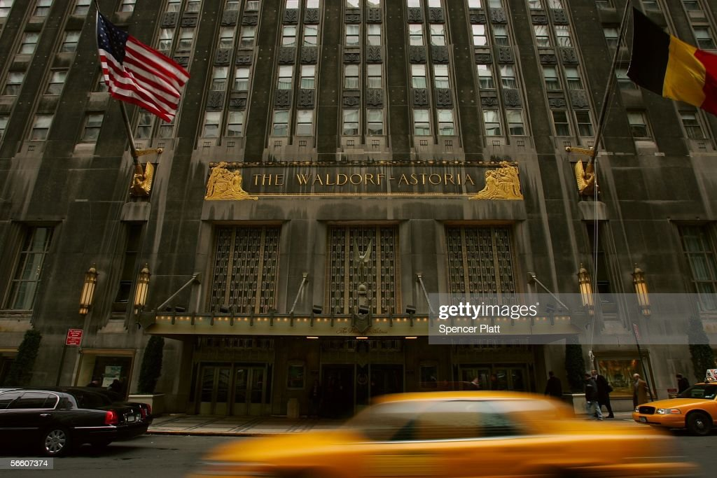 The WaldorfAstoria hotel is shown January 17 2005 in New York City Hilton Hotels' which has owned the Waldorf since 1949 announced plans to launch a...