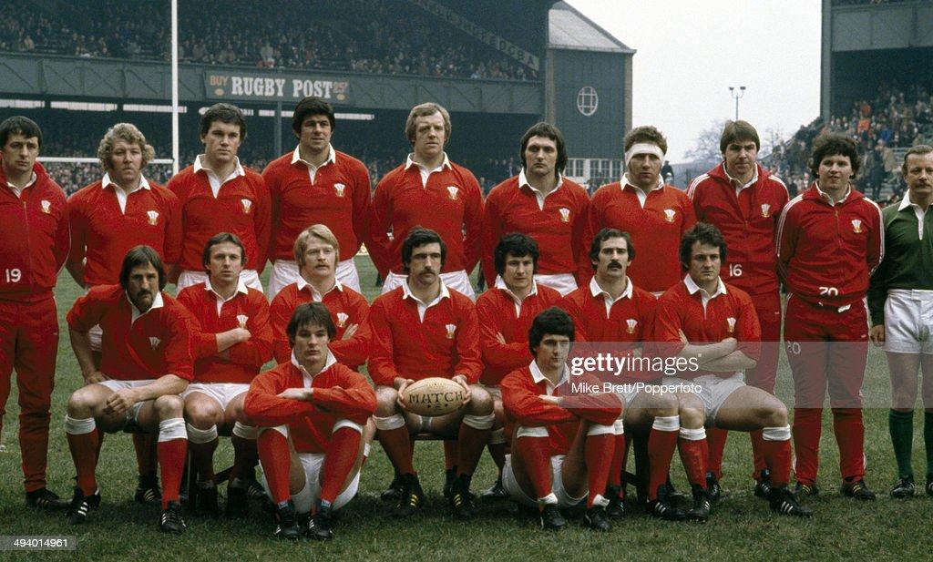 Resultado de imagem para Seleção de gales de rugby1980