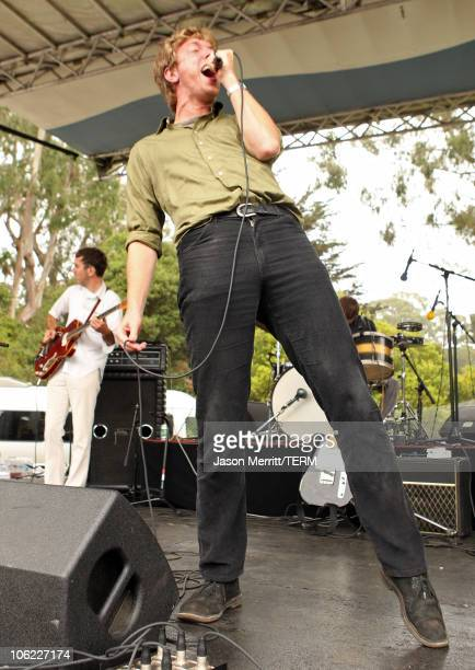 The Walkmen perform onstage during the 2008 Outside Lands Music And Arts Festival held at Golden Gate Park on August 23 2008 in San Francisco...