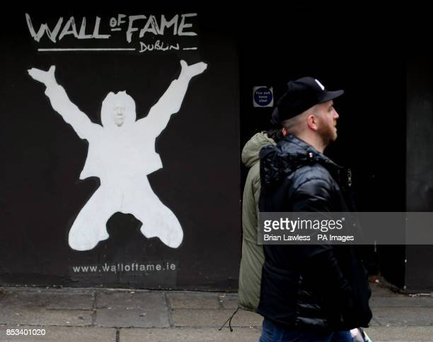 The Wall of Fame in Temple Bar Dublin