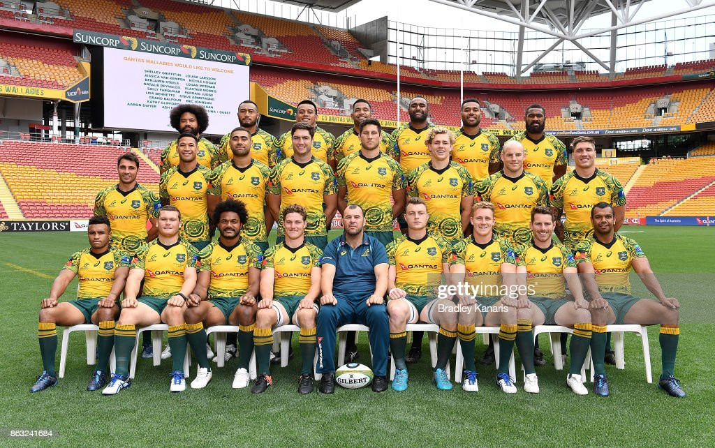 Australian Wallabies Captain's Run