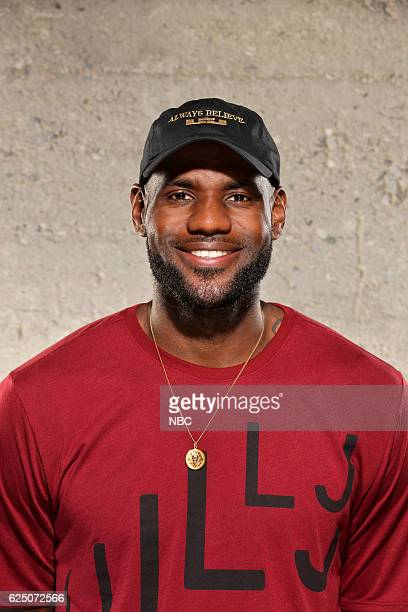 THE WALL 'The Wall/LeBron Press Day' Pictured LeBron James