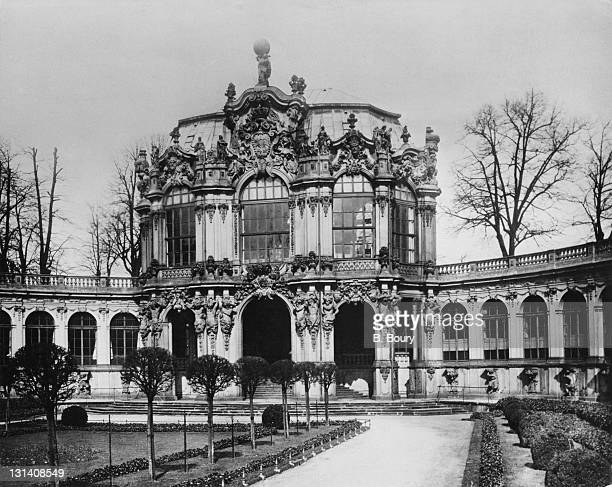 The Wallpavillion at the North end of the Zwinger palace in Dresden Germany circa 1935