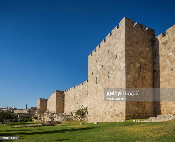 The walls near Tower of David