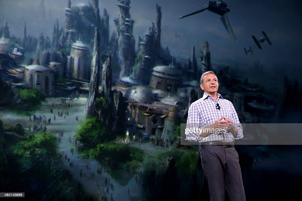 The Walt Disney Company Chairman and CEO Bob Iger took part today in 'Worlds, Galaxies, and Universes: Live Action at The Walt Disney Studios' presentation at Disney's D23 EXPO 2015 in Anaheim, Calif.