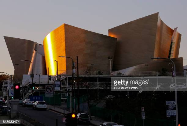 The Walt Disney Concert Hall Downtown on March 04 2017 in Los Angeles California