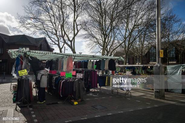 Walthamstow Market London Borough of Waltham Forest February 2014 The Walthamstow market is one of the longest daily outdoor market in Europe It...