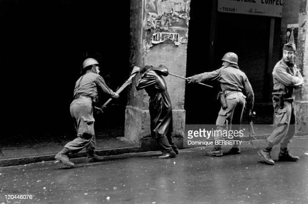 The War In Algiers Algeria In 1960 Riots