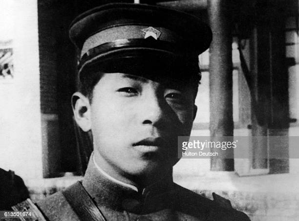 The war in the Far East General Chang HsuehLiang An exclusive and unpublished photo received from China of General Chang HsuehLiang who is commanding...
