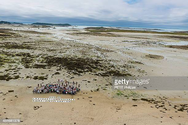 The war of the sand Brittany protest against the plundering of their coastal sand a group mobilizes against sand mining in the Bay of Lannion on July...