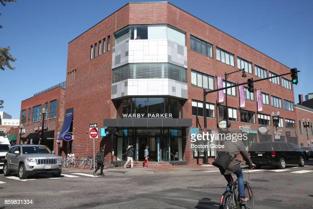 The Warby Parker store at 39 John F Kennedy Street in Harvard Square in Cambridge MA is pictured on Oct 3 2017
