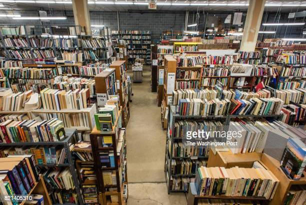The warehouse at Second Story Books in Rockville Allan Stypeck is the owner of Second Story Books and is a Senior Member of the American Society of...