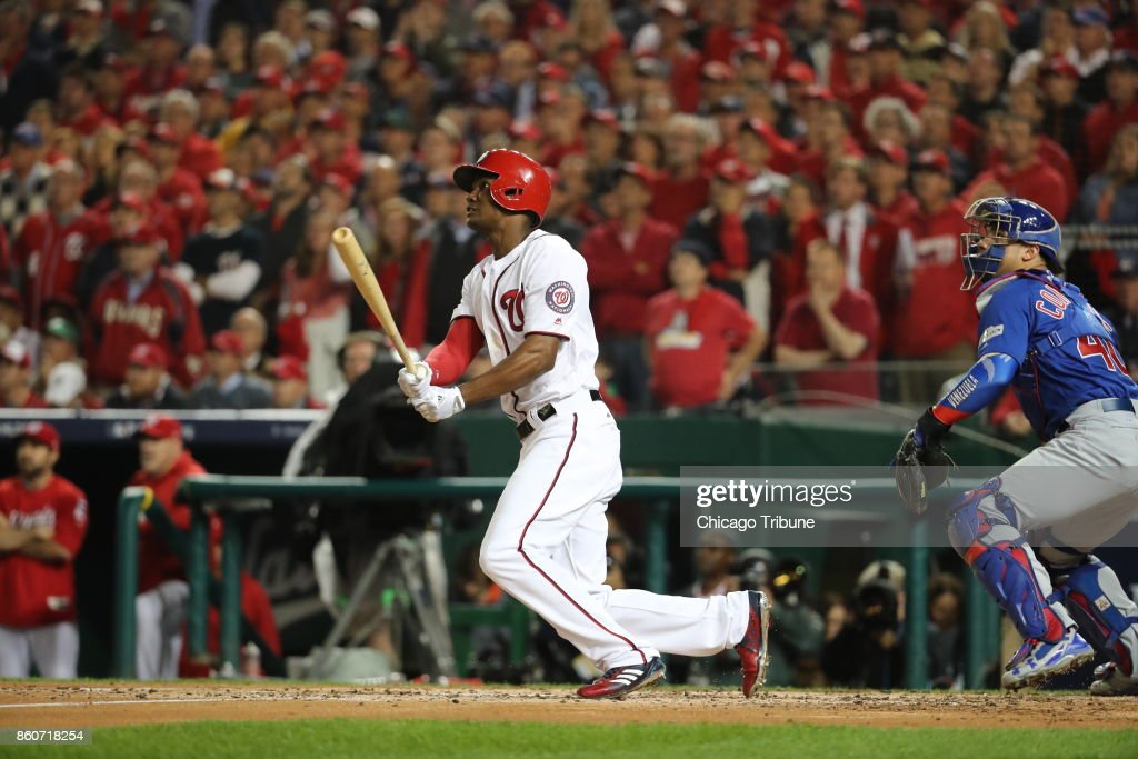 Image result for michael a. taylor home run game 5