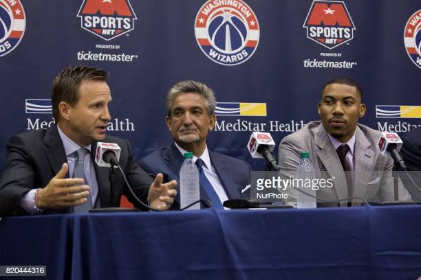 The Washington Wizards held a press conference to celebrate Otto Porter's new contract extension At the Verizon Center in Washington DC on Wednesday...