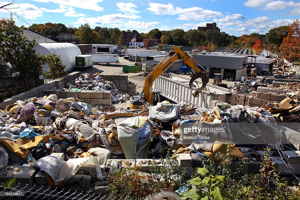 The waste management operation owned by Conigliaro Industries behind the New England Compounding Center (NECC), which is connected to an outbreak of meningitis.